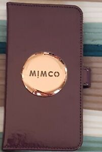 MIMCO FLIP CASE FOR IPHONE XS MAX - Royal Purple - RRP $99.95 - 100% Genuine
