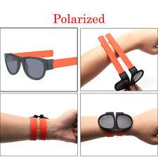 Unisex UV400 Polarized Folding Bracelet Glasses Creative Sunglasses Fashion Funn
