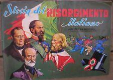 ALBUM storia del RISORGIMENTO ITALIANO IMPERIA 1973 COMPLETO -37 FIGURINE