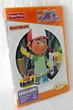Fisher Price Handy Manny IXL Interactive Story CD Game Cartridge Read Art Music