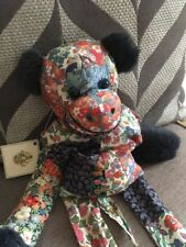VINTAGE Liberty of London bean filled LONG MONKEY TAGS Patchwork Fabric 53cm