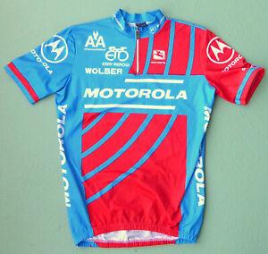 rare original 1991 team MOTOROLA cycling jersey TOUR DE FRANCE LANCE ARMSTRONG