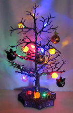 "**REDUCED PRICE**  19"" SPOOKY TOWN LIGHT UP HALLOWEEN TREE"