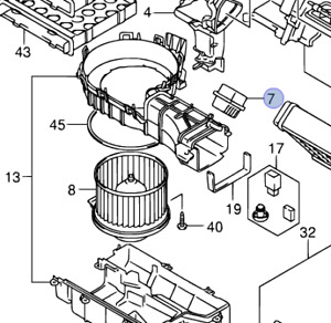 NEW Genuine Suzuki SX4 Heater Blower Resistor Fan Speed 74140-80J01