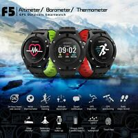 Sportuhr Running GPS Smartwatch Laufuhr Multi-sports Fitness Tracker Bluetooth