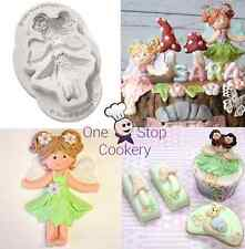 Katy Sue Sugar Buttons FAIRY Character Silicone Sugarcraft Mould Art & Craft