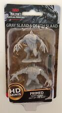 GRAY SLAAD & DEATH SLAAD Nolzur's miniatures new wizkids DUNGEONS AND DRAGONS