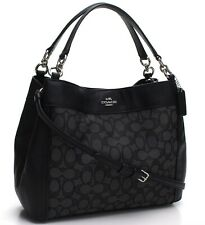 Coach * Women's Small Lexy Bag F29548 SVDK6 Signature Black COD Paypal