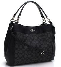 Coach * Women's Small Lexy Bag F29548 SVDK6 Signature Black COD Paypal