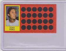 1981 TOPPS SCRATCH OFF TONY PEREZ CARD #8 ~ L@@K!!!