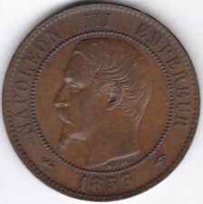 1853 A France 10 centimes *** collector *** UNC ***