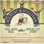 Cox and Box, Trial By Jury (Hickox, Bbcno of Wales) CD NEW