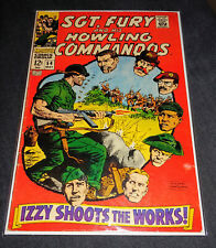 SGT. FURY AND HIS HOWLING COMMANDOS 54 avengers thor hulk silver age marvel