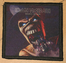 "IRON MAIDEN ""WILDEST DREAMS"" silk screen PATCH"