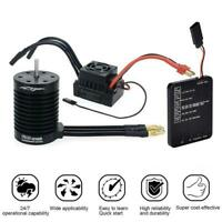 1Set 4370KV F540 Waterproof Brushless Motor With 60A ESC Program Card For1 10 RC