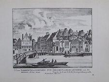 Petrus Schenk GESCHUT EN KLOK GIETERYE TORMENTIS CAMPANIS Amsterdam Druck print