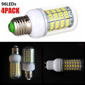 4 PACK LED Light Corn Bulb Cool White Warm White LED Lamp E27 B22 E14 G9 GU10
