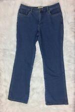 COLDWATER CREEK Sz 10 Jeans Blue Cotton Stretch Pants