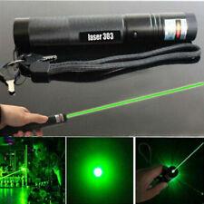 1MW 10miles Military Green 303 Laser Pointer Pen Lazer Light Visible Beam Burn
