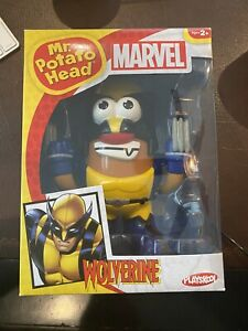 PLAYSKOOL MR.POTATO HEAD X-MEN WOLVERINE MARVEL DC COMICS SUPER HERO FIGURE MINT