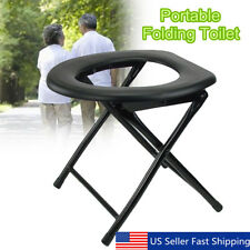 Portable Folding Toilet RV Travel Camping Fishing Boat Outdoor Tent Accessories