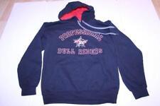 Men's PBR Professional Bull Riders S Hoodie Hooded Sweatshirt (Black) Gildan