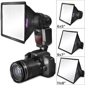 (3 pack) Flash Diffuser Light Softbox by Altura Photo for Canon Yongnuo Nikon