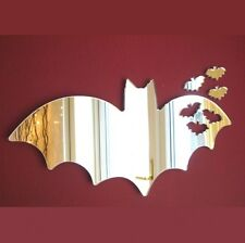 Bats out of Bat Mirrors (3mm Acrylic Mirror, Several Sizes Available)