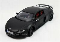 AUDI R8 GT3 1:18 Scale NEW Diecast Model Toy Car Miniature Toy Miniature Black