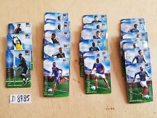 (07) football coupe du monde FIFA équipe France lot au choix 4 magnets pub sport