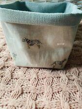 Sophie Allport  Terrier Dog  Fabric Storage Basket  - Beige