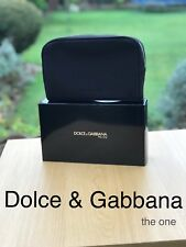 🆕DOLCE & GABBANA D&G Black TRAVEL Wash Bag Gift Boxed New FREE DELIVERY!!