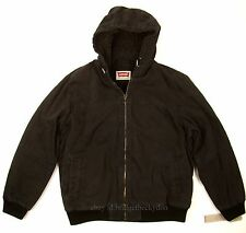 Levis Bomber Jacket New BLACK SIZE X-LARGE Heavy Duty Canvas / Sherpa Lined NWT