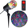 LightShow Projection Multi-function Multicolor LED Kaleidoscope Christmas