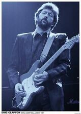 ERIC CLAPTON POSTER LIVE AT ROYAL ALBERT HALL LONDON 1987