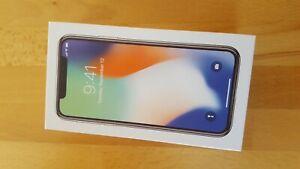 Apple iPhone X  64GB  Silber  Ohne Vertrag Hervorragend – Refurbished