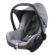 BAMBINIWELT Ersatzbezug 6tlg. Maxi-Cosi CABRIOFIX Baby MELIERT GRAU/HELLGRAU