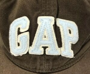 Gap Baby Toddler Boys Brown Baseball Hat Cap SZ M L 4-5Y