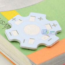 10Pcs x Star 20mm High Power 1W 3W LED Heat Sink Aluminum Base Plate DIY