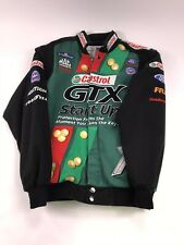 Mens Castrol GTX Drag Racing John Force Jacket - Size Small nhra