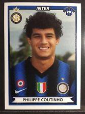 2010-11 Panini Calciatori sticker # 235 Philippe Coutinho Inter rookie Barcelona
