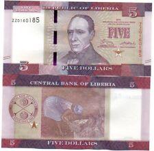 Liberia - 5 Dollars 2016 serie ZZ UNC Lemberg-Zp