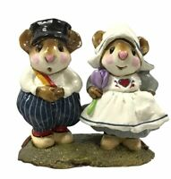 Wee Forest Folk M-169 Hans and Greta Dutch Retired