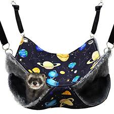 Fulue Ferret Rat Hammock,Ferret Cage Accessories Ferret Guinea Pig Hanging Bed