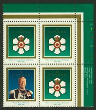 Canada 1447b TR Plate Block MNH Order of Canada, Roland Michener
