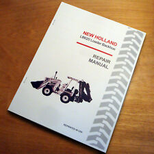 New Holland Lb620 General Loader Backhoe Service Repair Shop Manual Nh