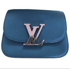 Usado pero casi perfecta Louis Vuitton Vivienne Bolso para el hombro, Turquesa
