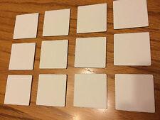 Carcassonne - Set of 12 Blank White Tiles Expansion  - Original Version