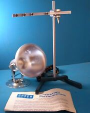 CENCO-MILLER FOUR THERMOMETER APPARATUS (NO THERMOMETERS STAND AND LIGHT ONLY)
