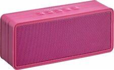 Insignia™ - Portable Bluetooth Stereo Speaker - Boysenberry  NS-SPBTBRICK-CS